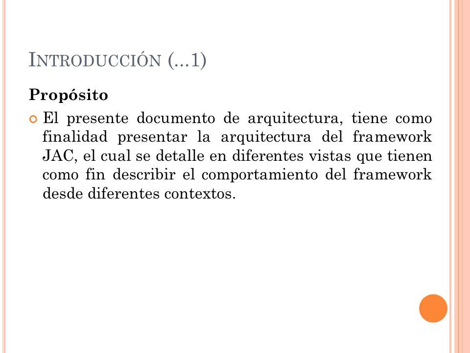 Introducción (...1) Propósito