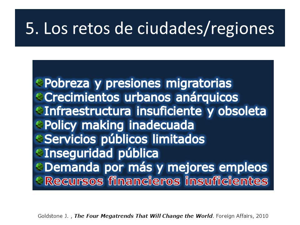 5. Los retos de ciudades/regiones