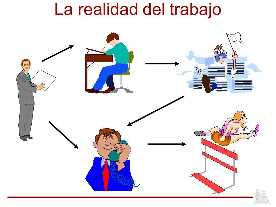 La realidad del trabajo