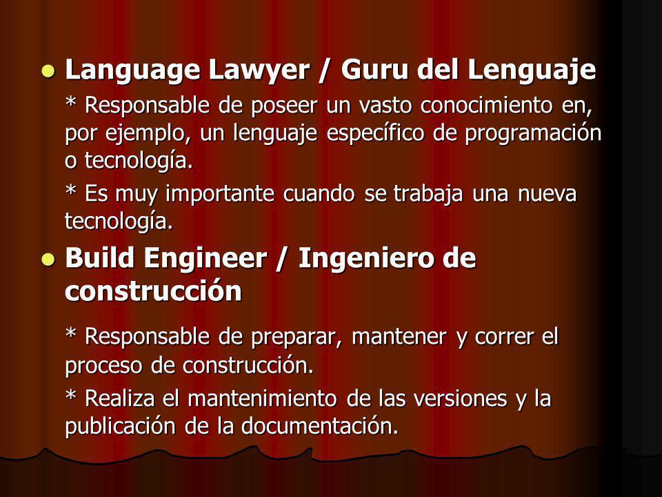 Language Lawyer / Guru del Lenguaje