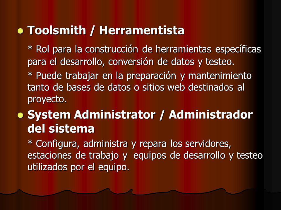 Toolsmith / Herramentista