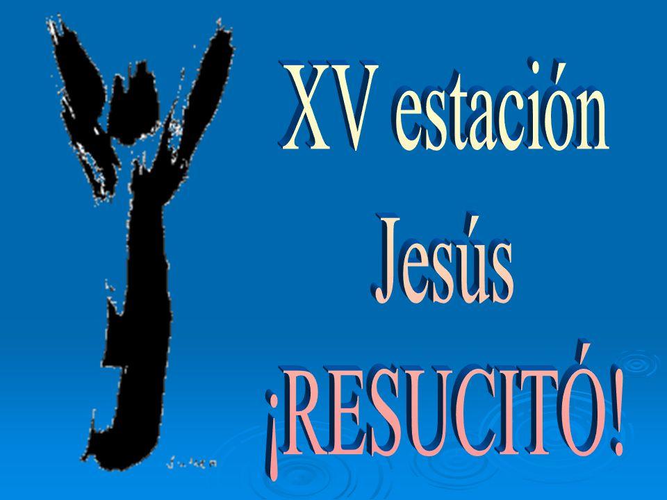 XV estación Jesús ¡RESUCITÓ!