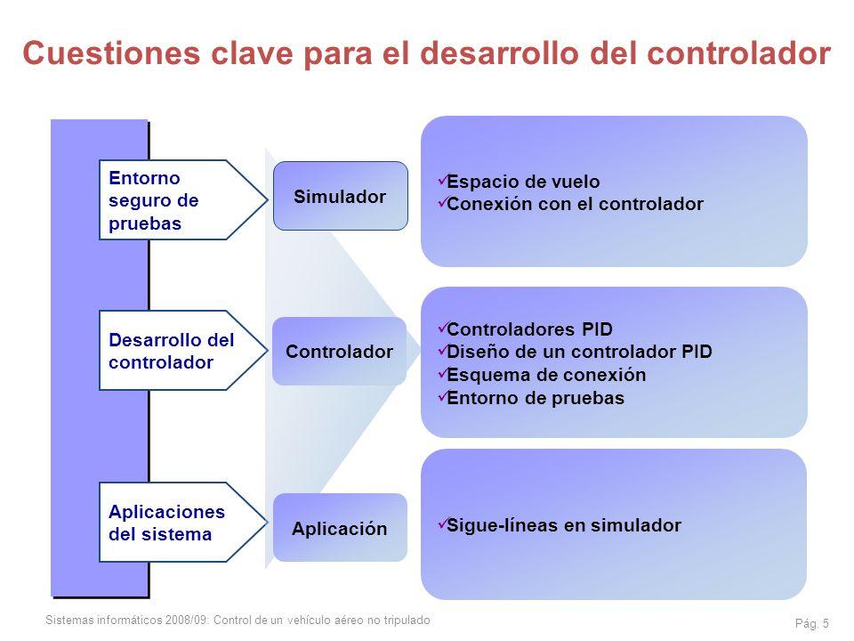 Cuestiones clave para el desarrollo del controlador