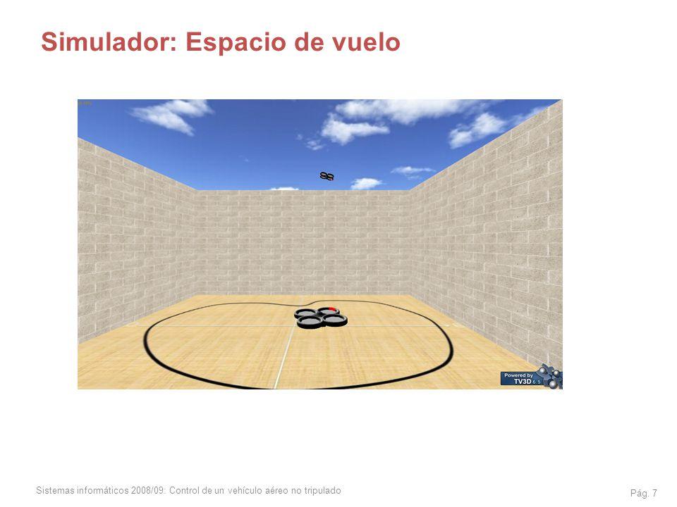 Simulador: Espacio de vuelo