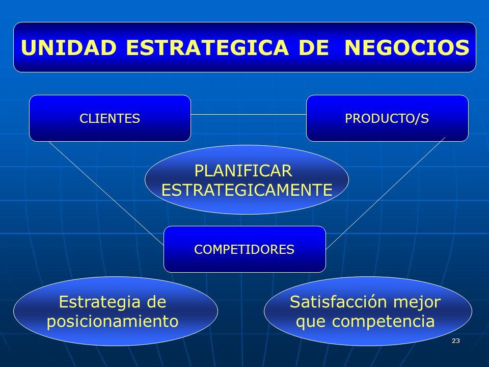 UNIDAD ESTRATEGICA DE NEGOCIOS