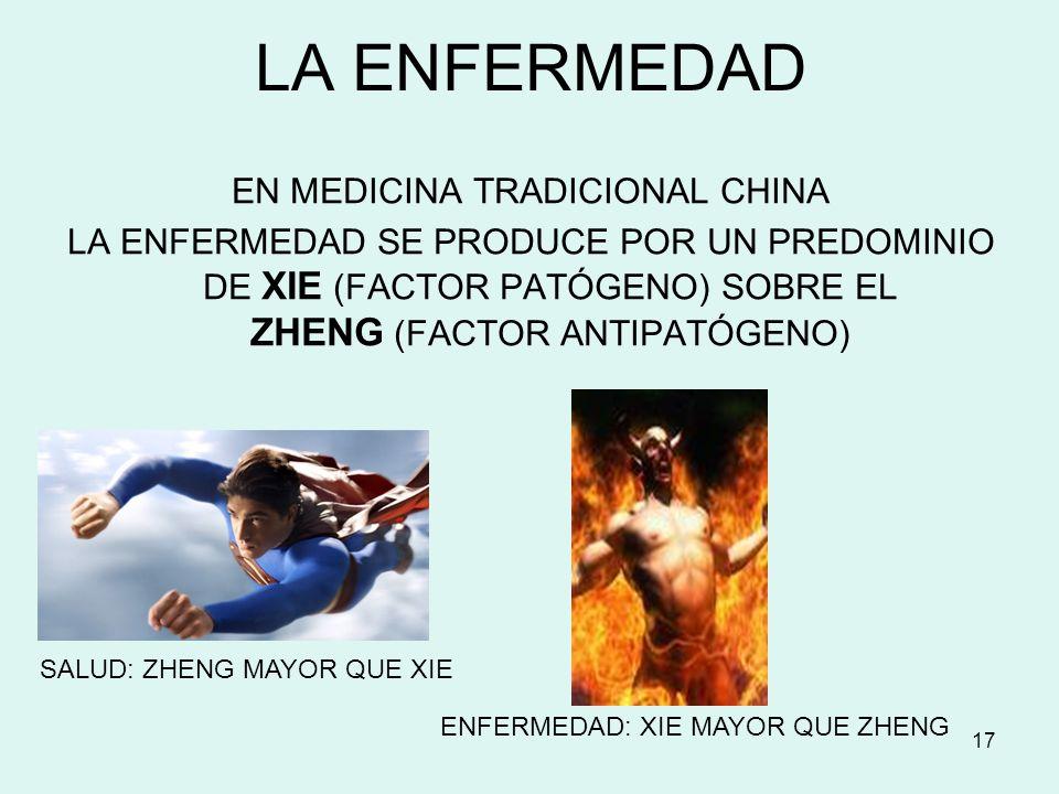 EN MEDICINA TRADICIONAL CHINA