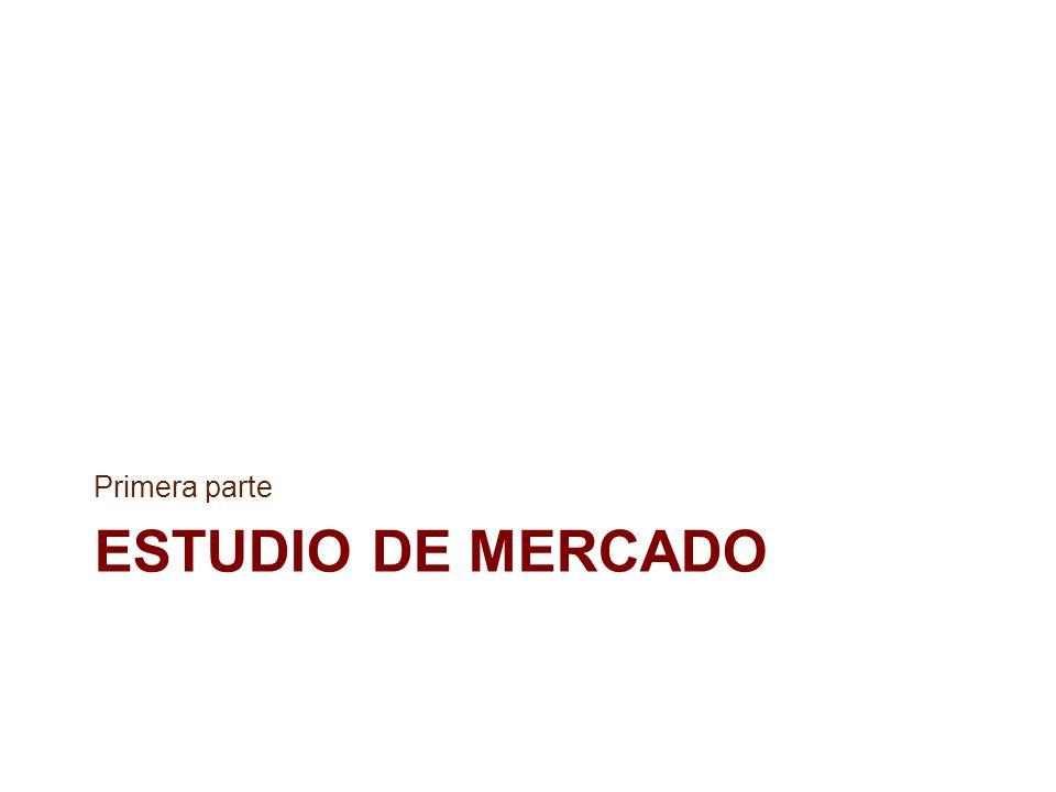 Primera parte ESTUDIO DE MERCADO