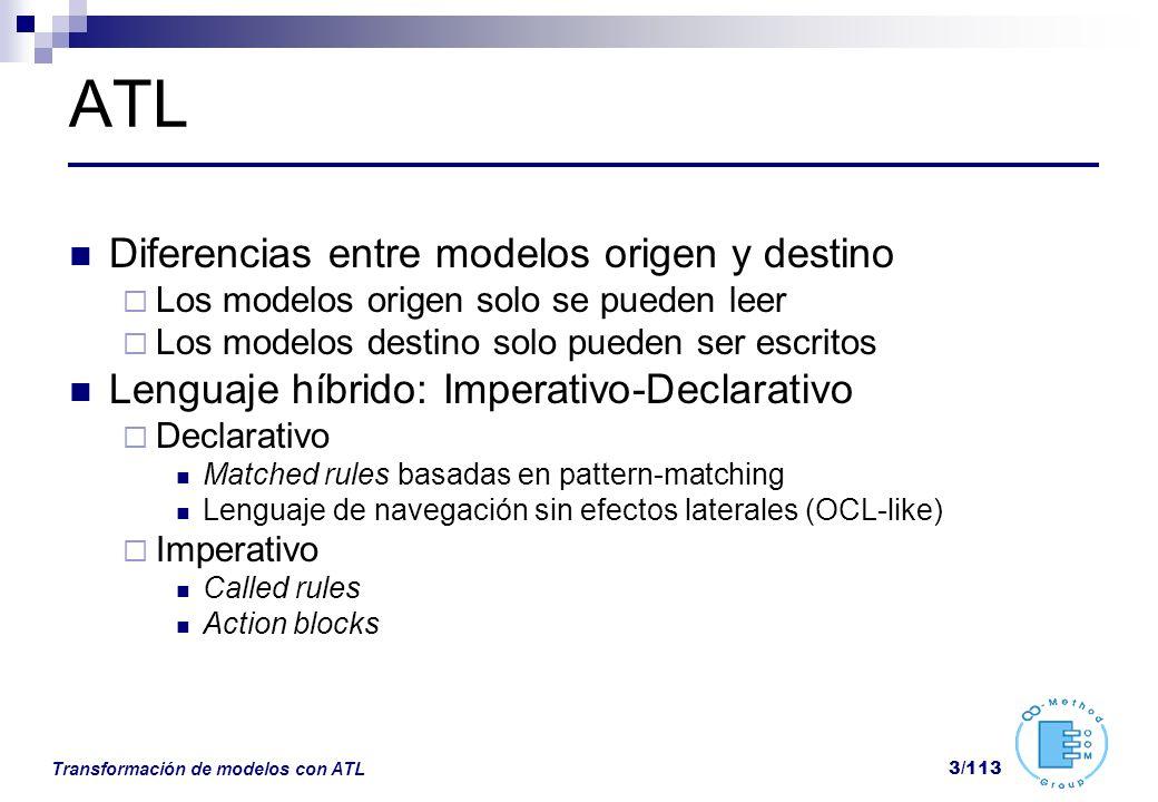 ATL Diferencias entre modelos origen y destino