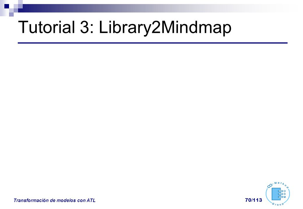 Tutorial 3: Library2Mindmap