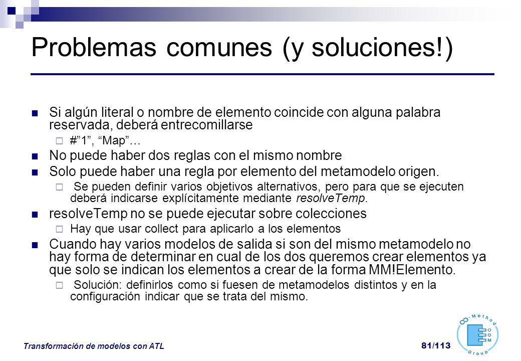 Problemas comunes (y soluciones!)