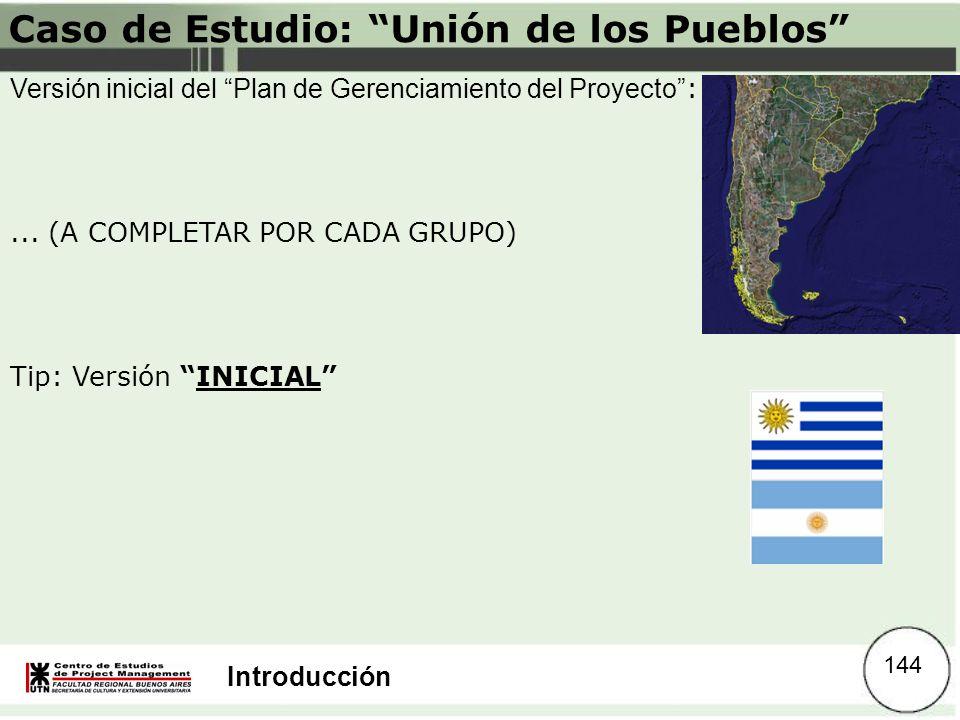 Caso de Estudio: Unión de los Pueblos