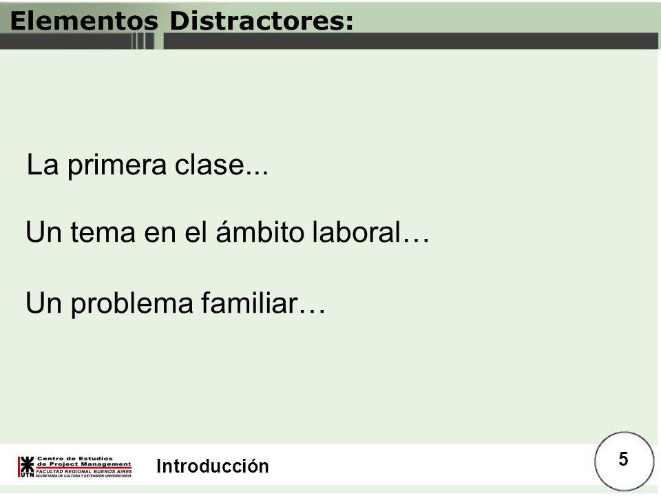 Elementos Distractores: