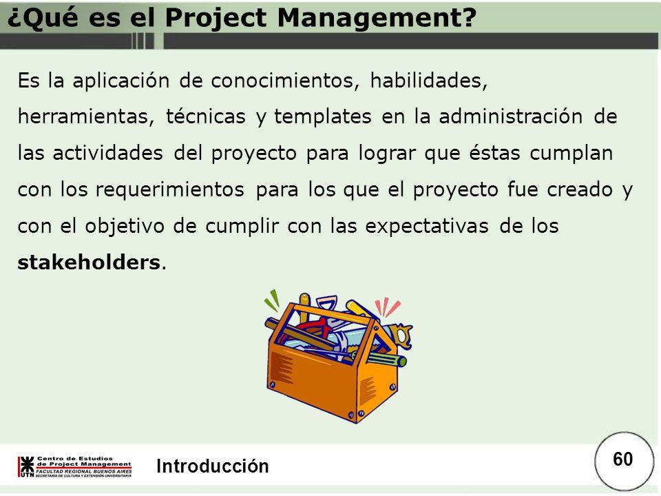 ¿Qué es el Project Management