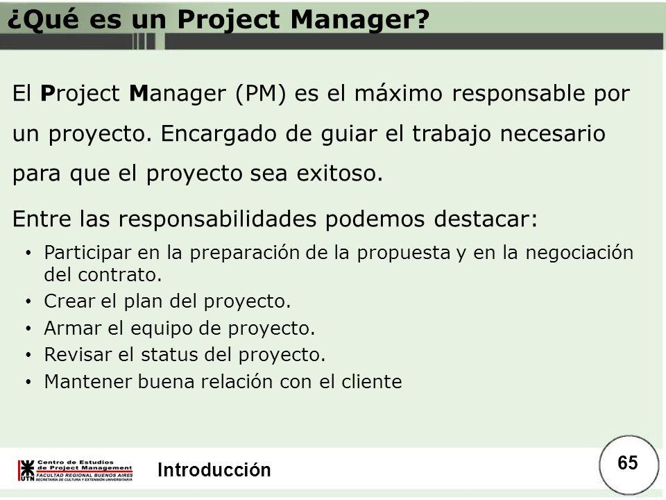 ¿Qué es un Project Manager