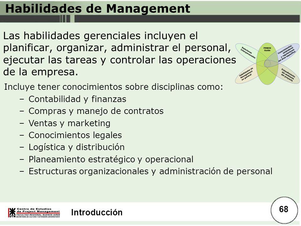 Habilidades de Management
