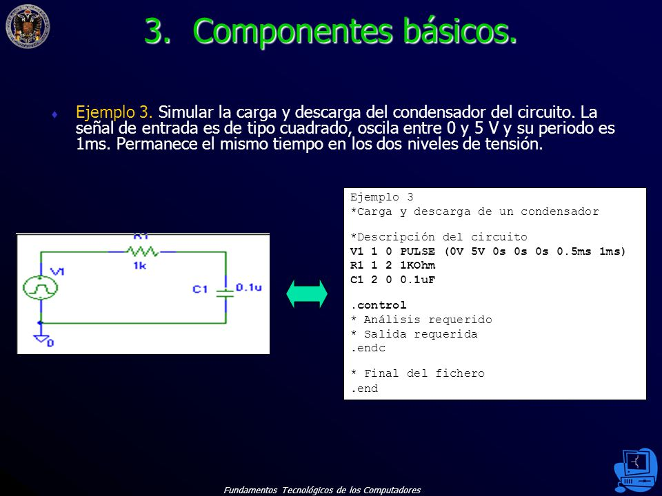 3. Componentes básicos.
