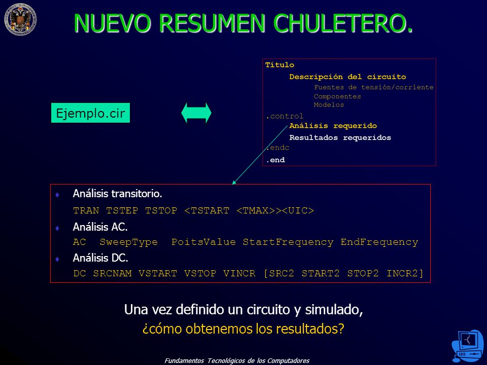 NUEVO RESUMEN CHULETERO.