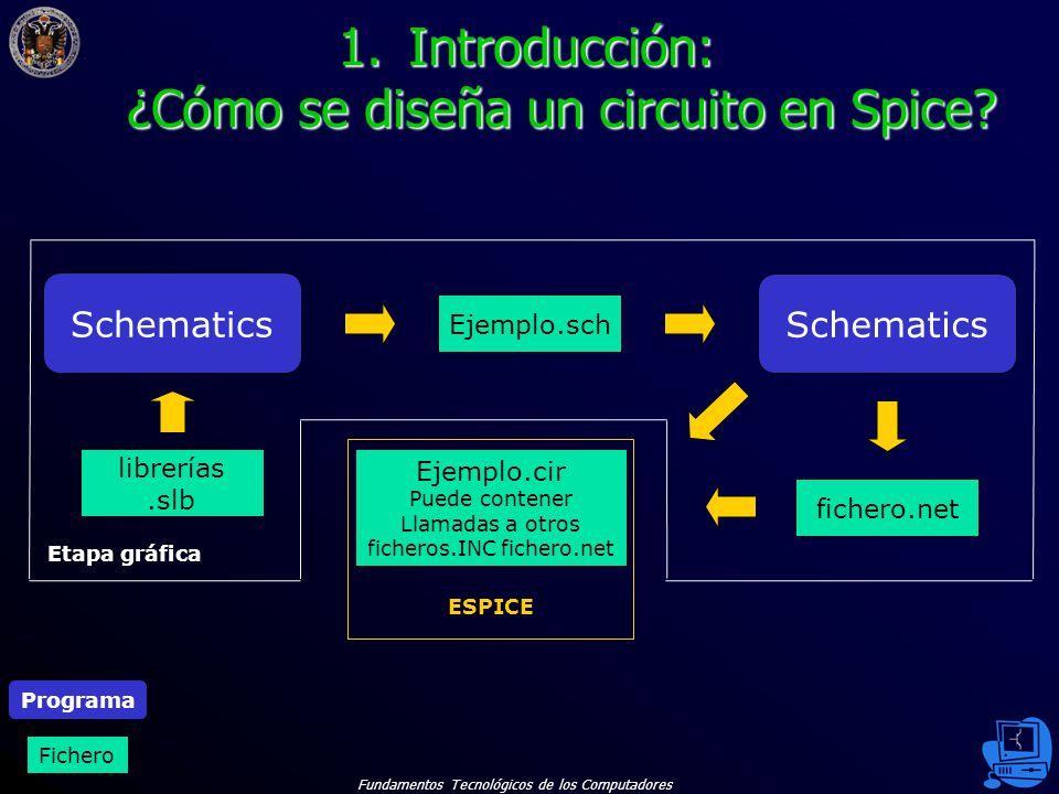 Introducción: ¿Cómo se diseña un circuito en Spice