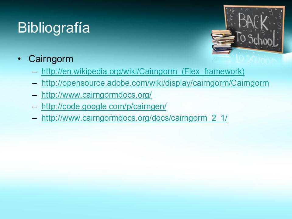 Bibliografía Cairngorm
