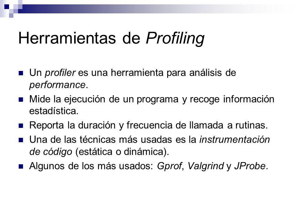 Herramientas de Profiling