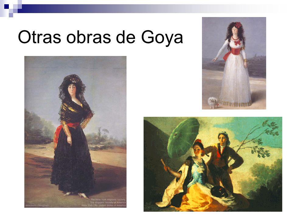 Otras obras de Goya