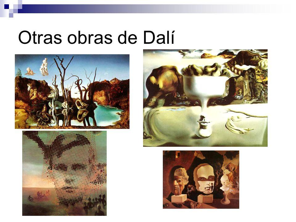 Otras obras de Dalí
