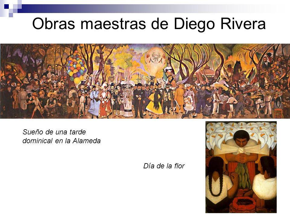 Obras maestras de Diego Rivera