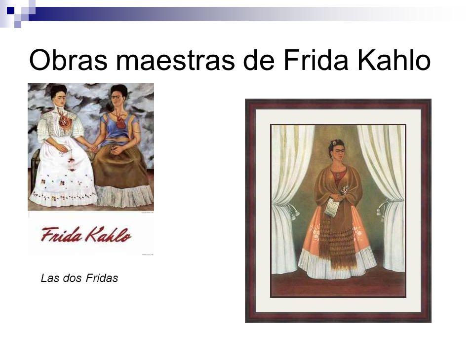 Obras maestras de Frida Kahlo