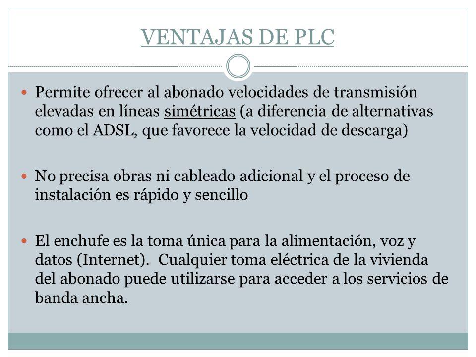 VENTAJAS DE PLC