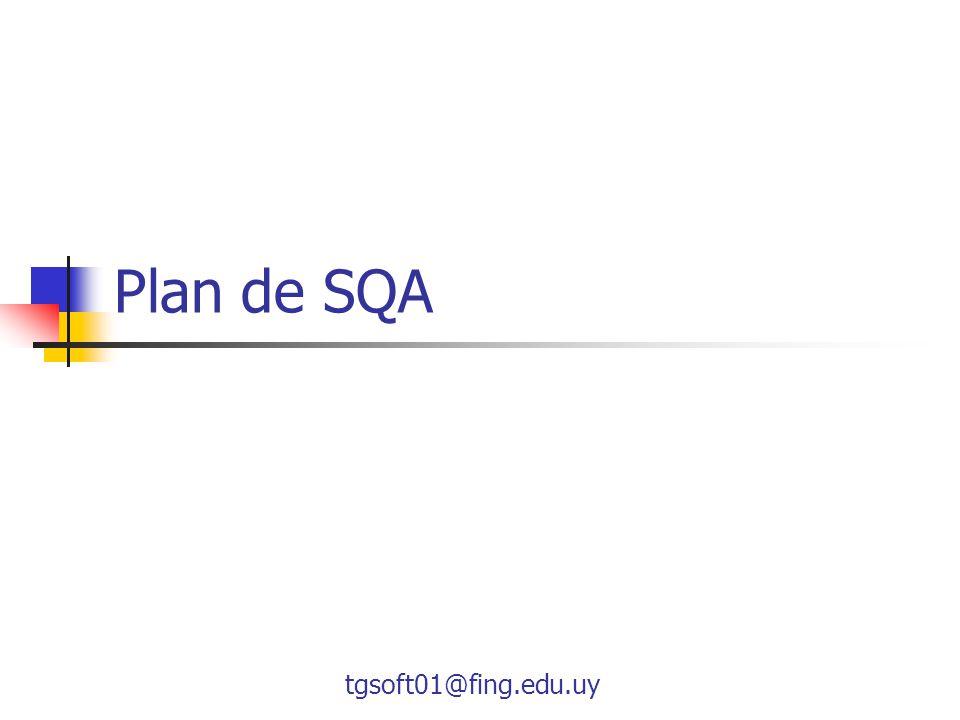Plan de SQA tgsoft01@fing.edu.uy