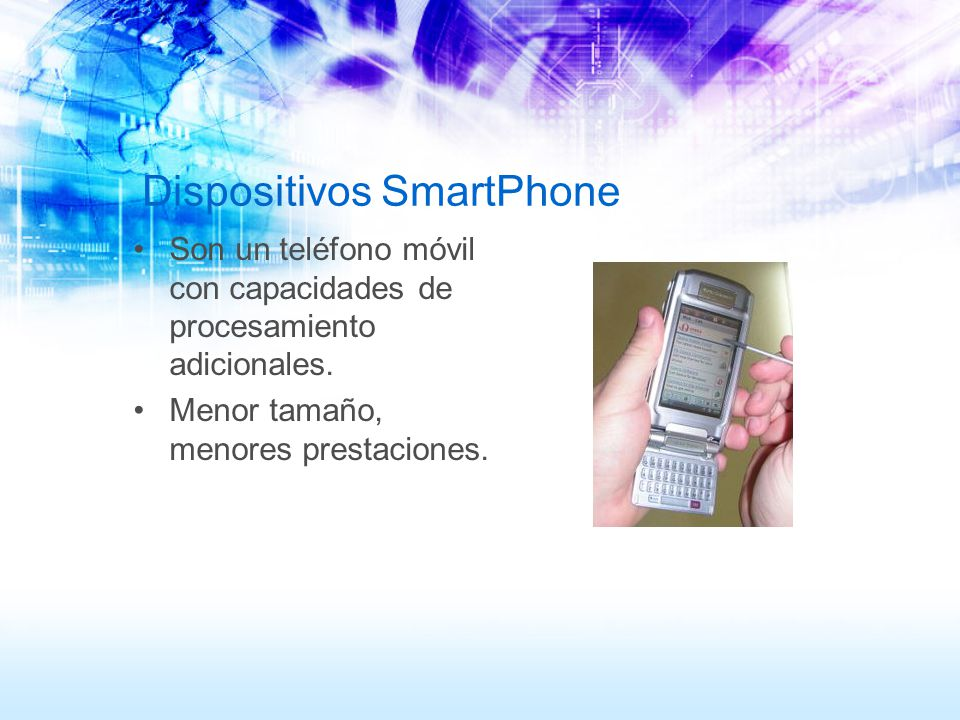 Dispositivos SmartPhone