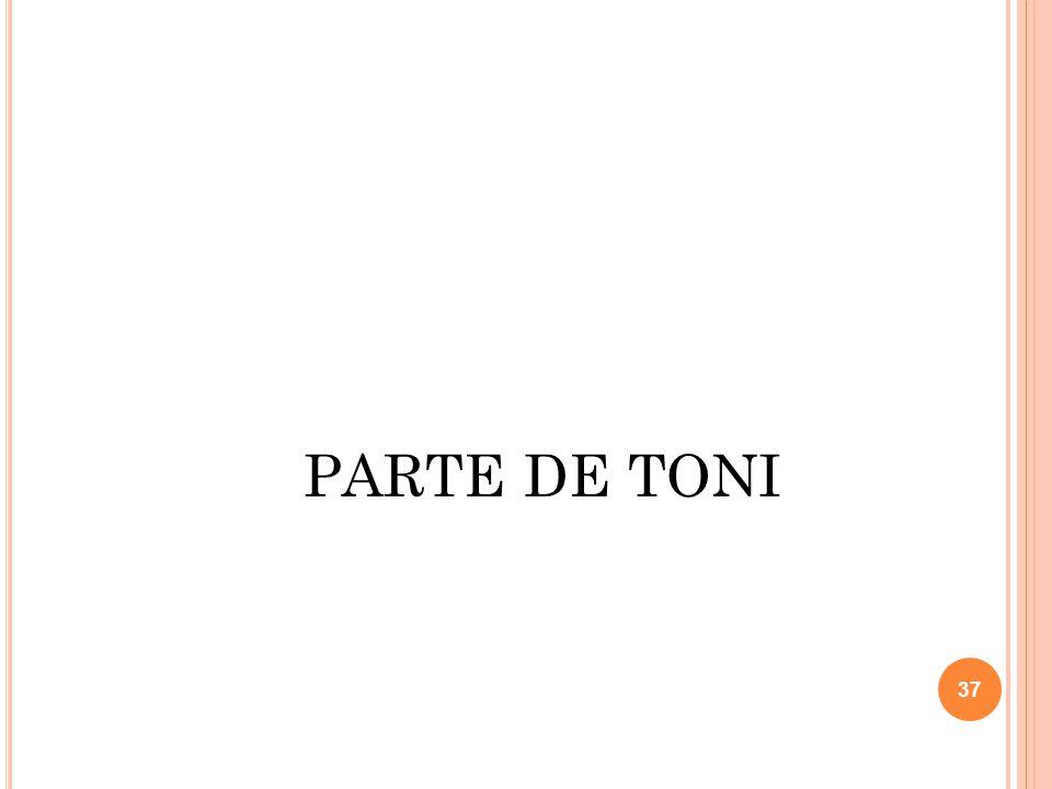 PARTE DE TONI