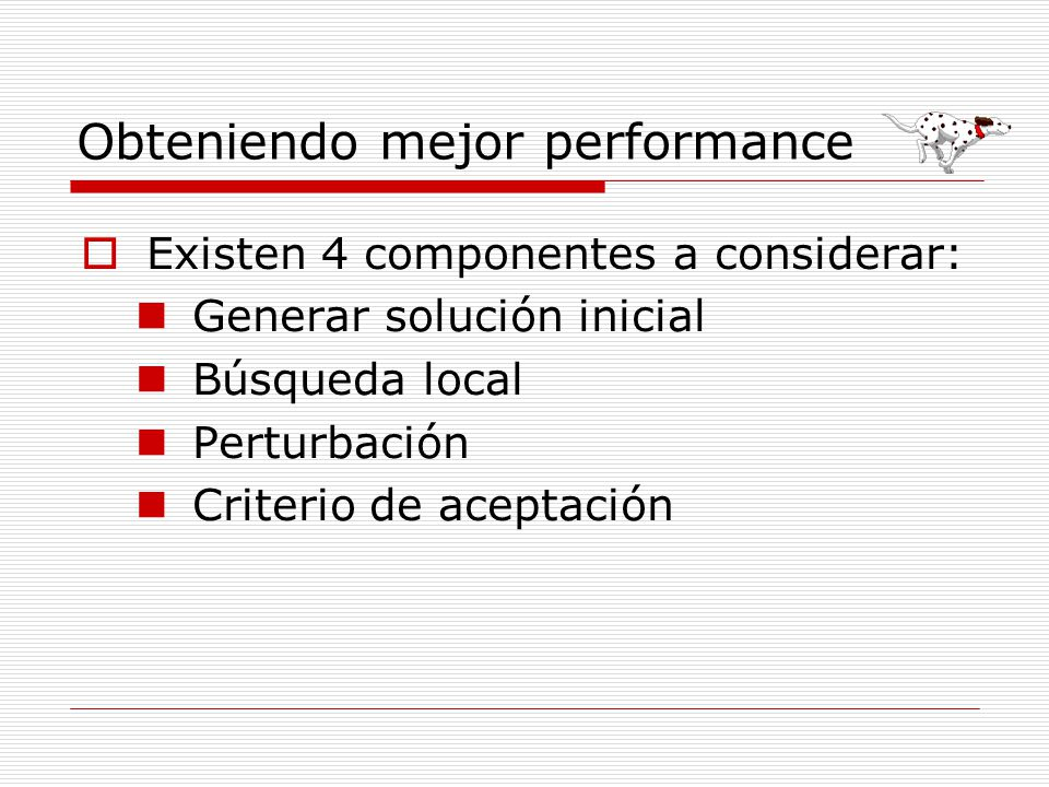Obteniendo mejor performance