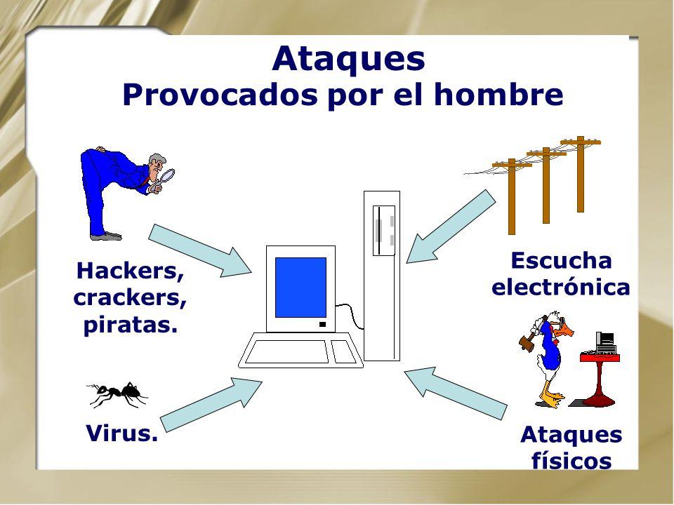 Ataques Provocados por el hombre
