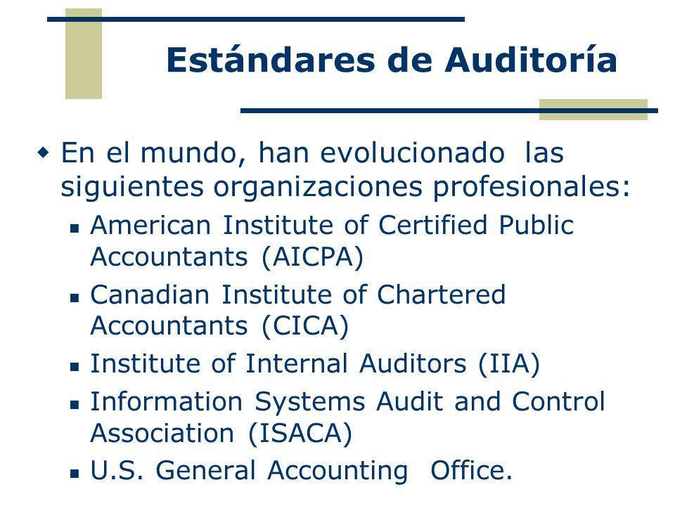 Estándares de Auditoría