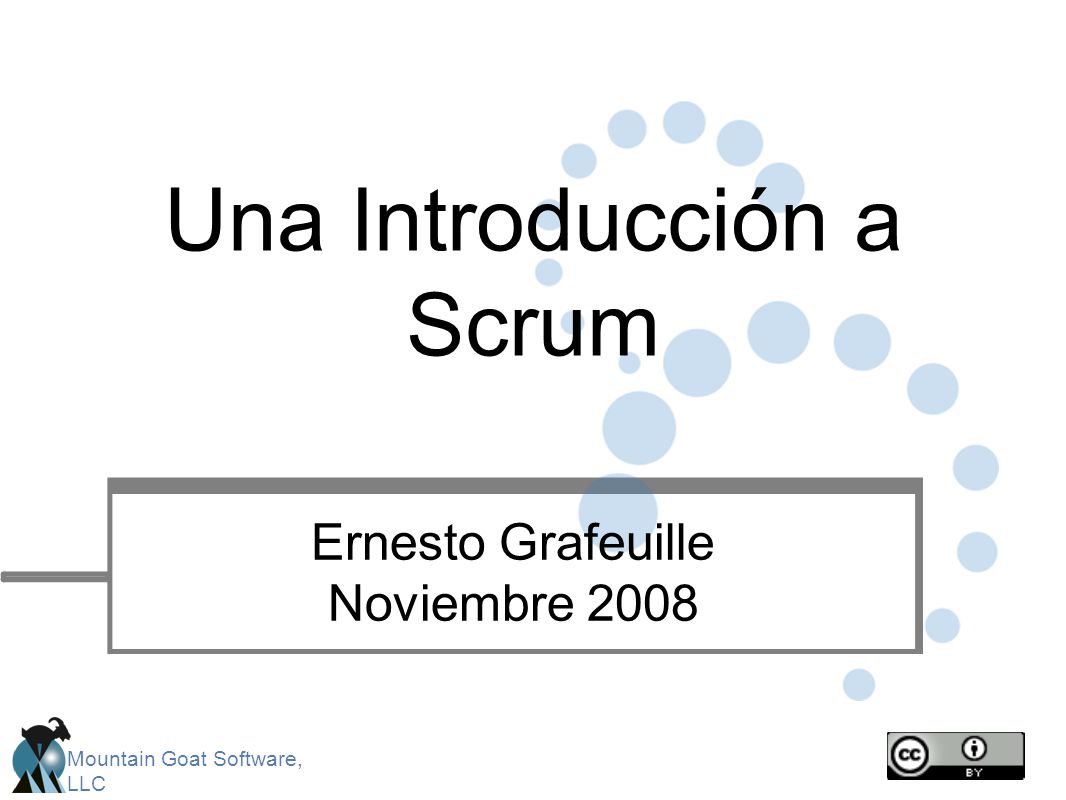 Una Introducción a Scrum