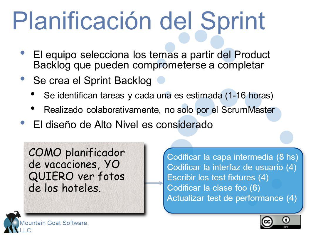 Planificación del Sprint