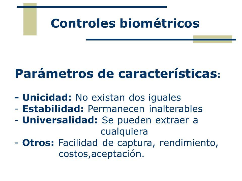 Controles biométricos