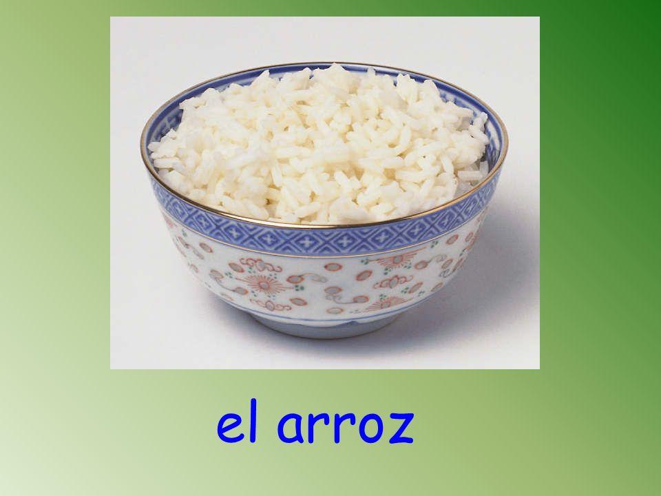 el arroz