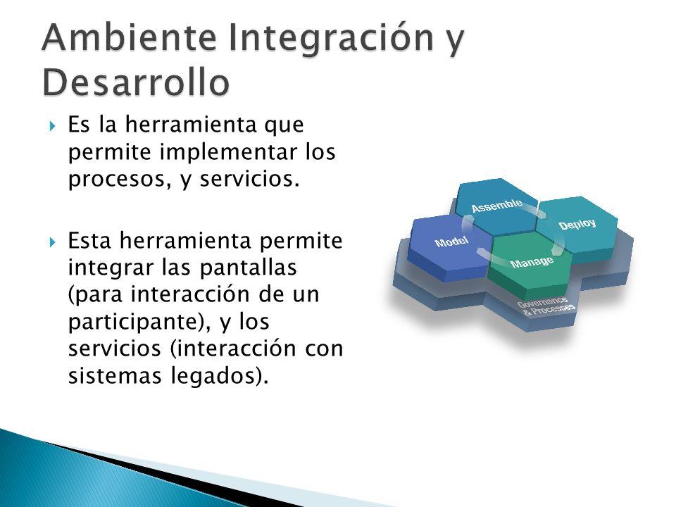 Ambiente Integración y Desarrollo