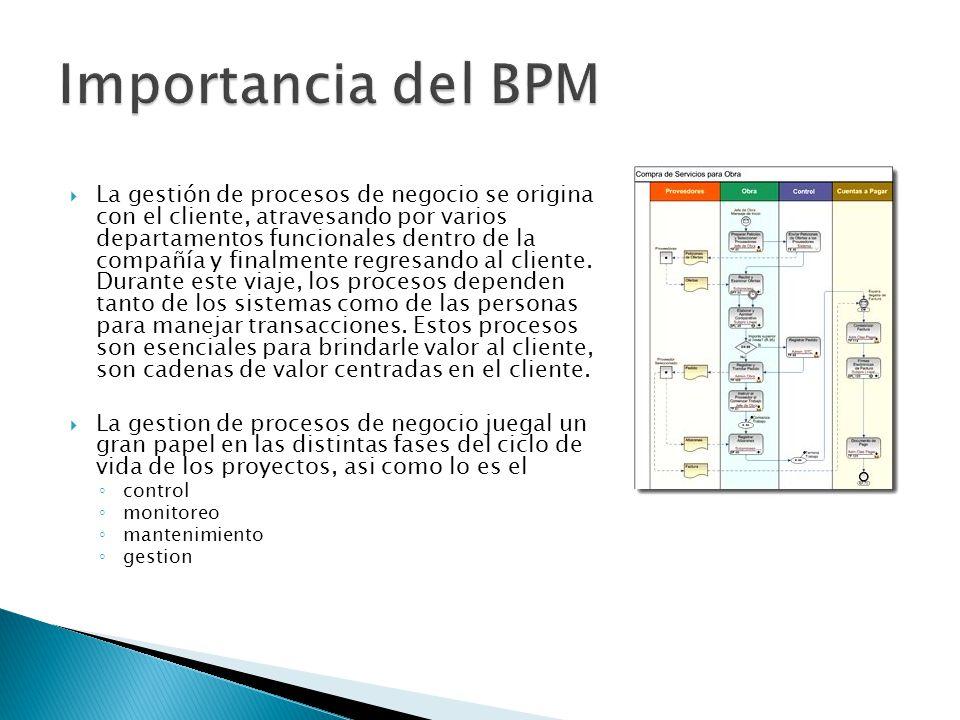 Importancia del BPM