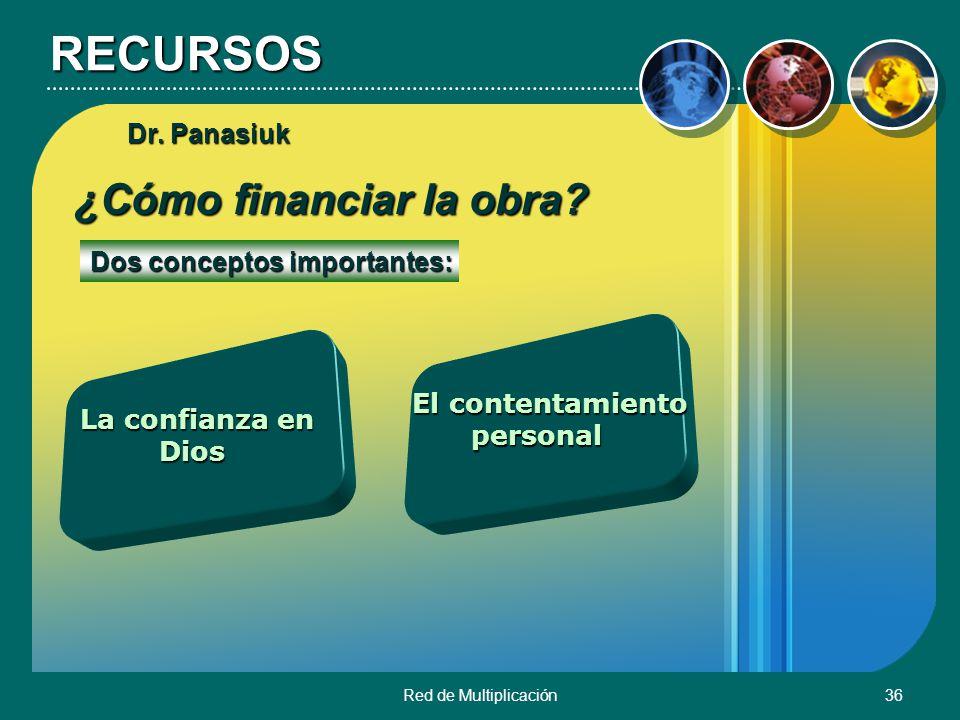 RECURSOS ¿Cómo financiar la obra Dr. Panasiuk
