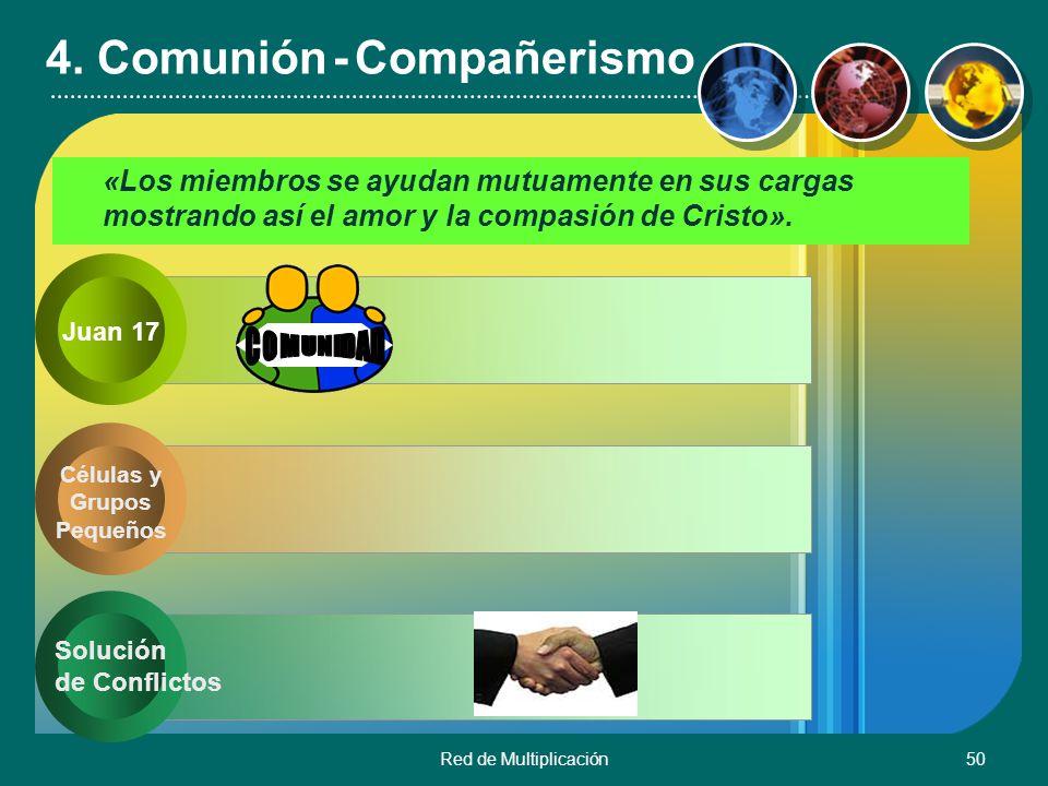 4. Comunión - Compañerismo
