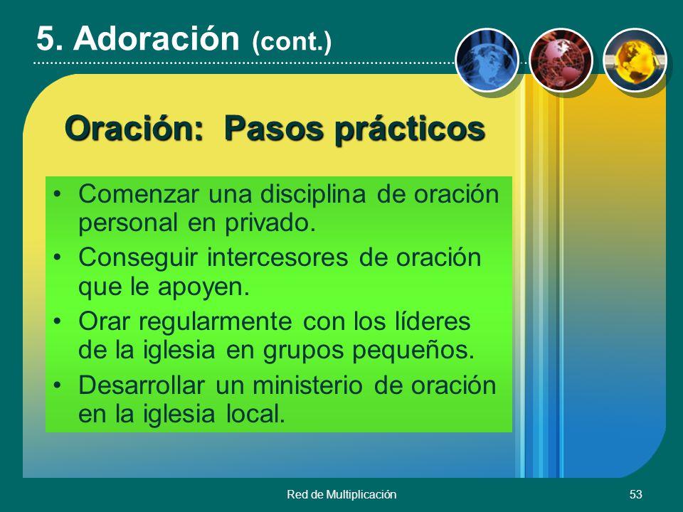 Oración: Pasos prácticos