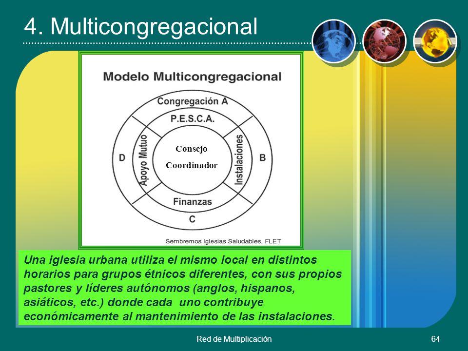 4. Multicongregacional Consejo. Coordinador.