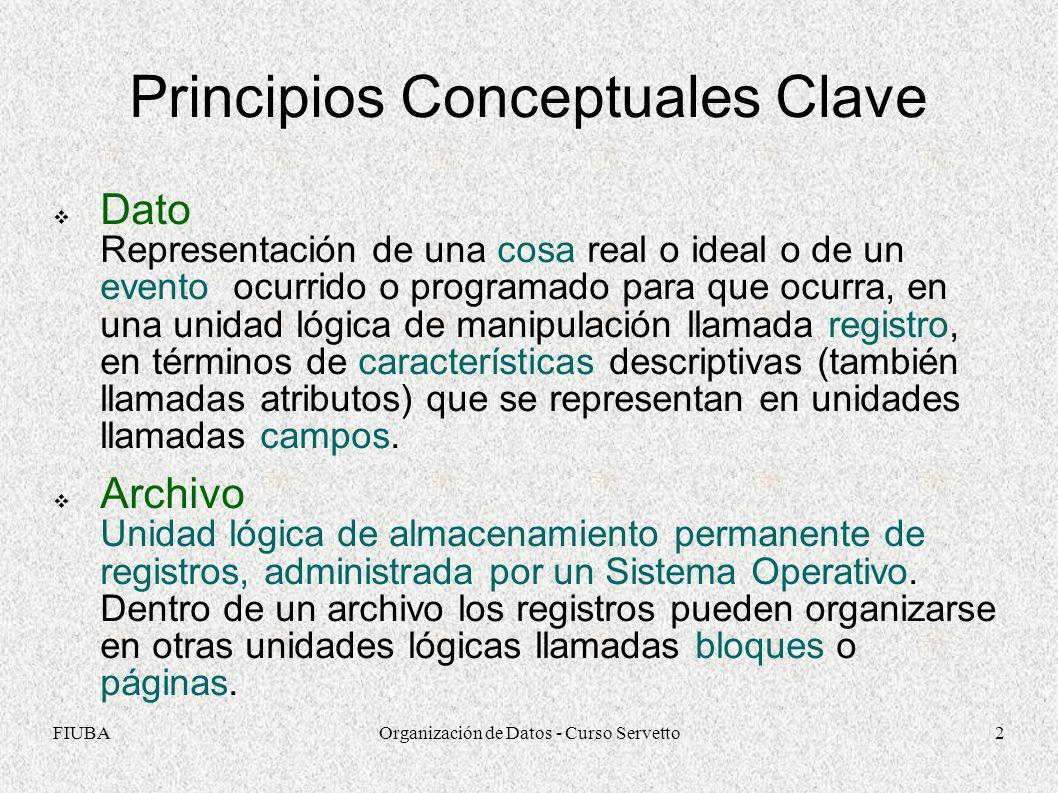 Principios Conceptuales Clave
