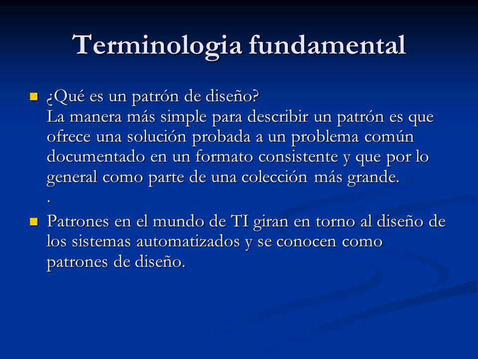 Terminologia fundamental