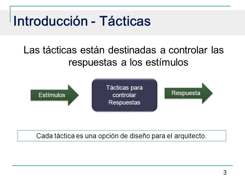 Introducción - Tácticas