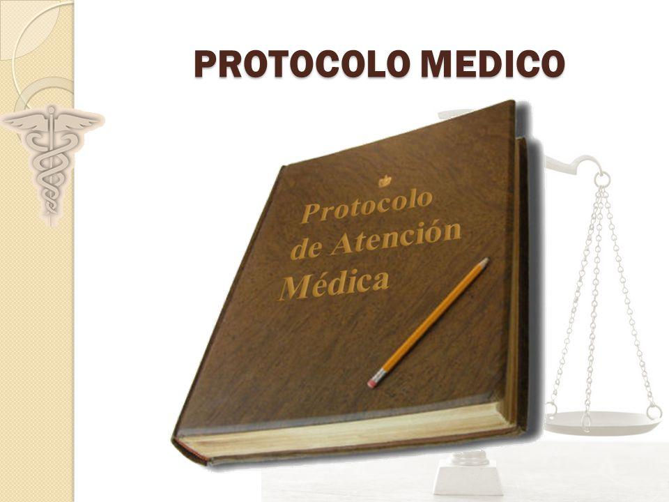 PROTOCOLO MEDICO
