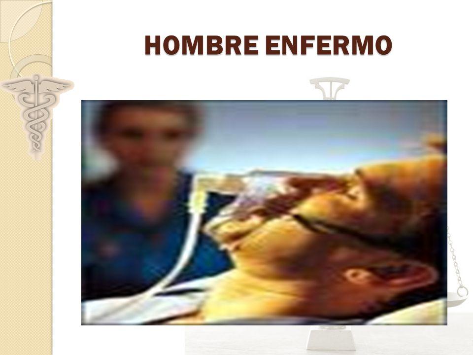 HOMBRE ENFERMO